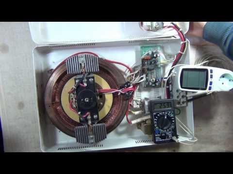 Стабилизатор напряжения своими руками 220в 7 квт схема