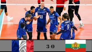 France vs Bulgaria   2018 Volleyball Nations League Mens - Week 4   Extendedd Highlights