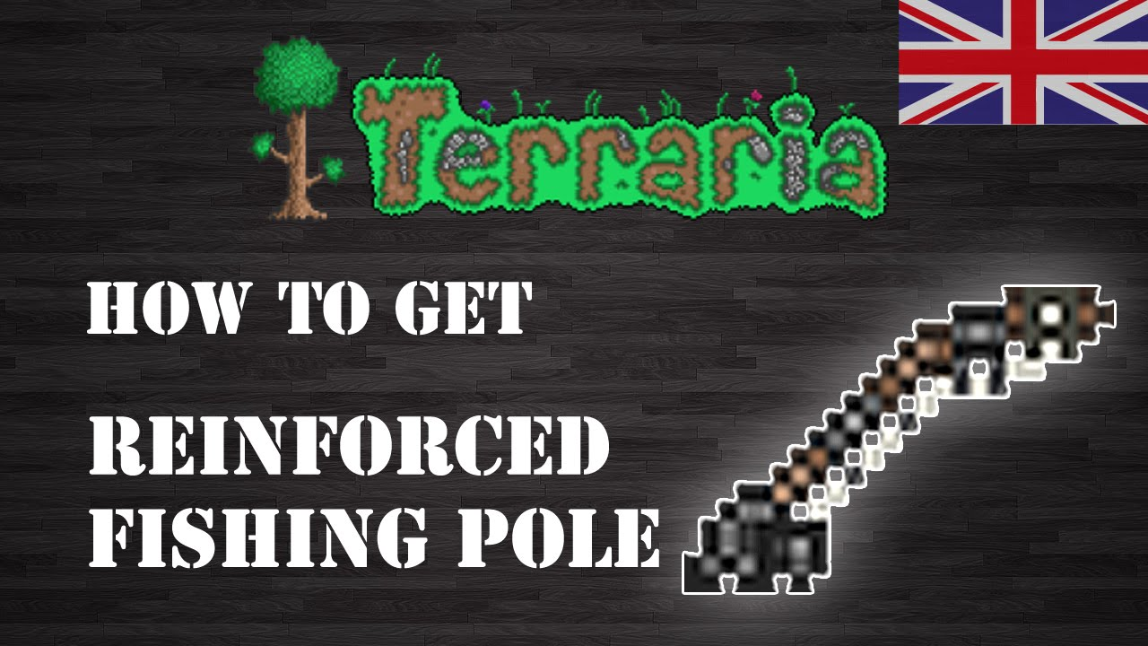 How To Craft A Fishing Pole In Terraria
