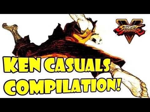 SFV - Rush G Hype Ken Compilation!