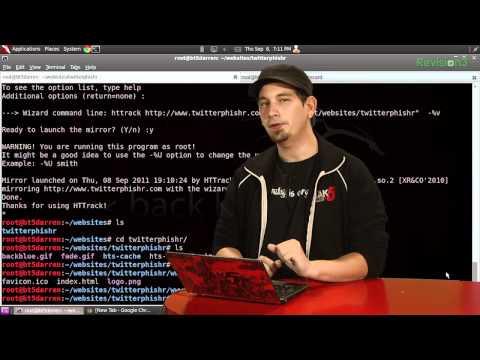 HakTip - Mirror Websites with HTTrack