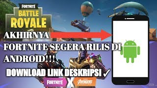 FORTNITE-Battle Royale RELEASES on Android??? Game Download Check!!! description