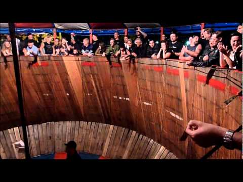 The Wall Of Death At The Iron Horse Saloon The Main Street Girls