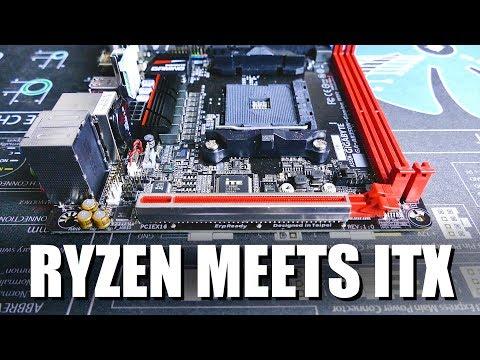 Gigabyte AB350N ITX Ryzen Motherboard Review