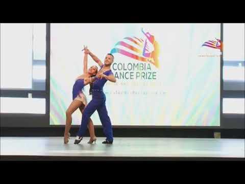 Colombia dance Prize. Parejas Salsa Cabaret Profesional.
