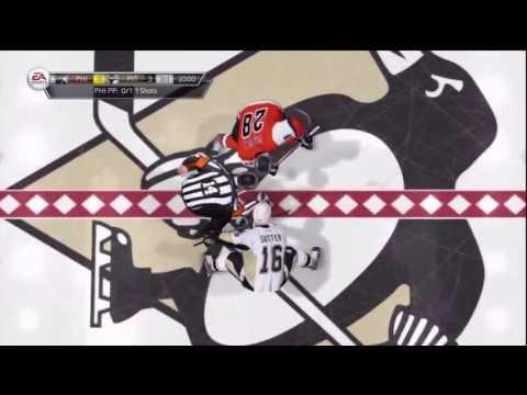 NHL 14 Online - Penguins VS Flyers (Full Game)