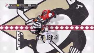 NHL 14 Online - Penguins VS Flyers (Full Game)