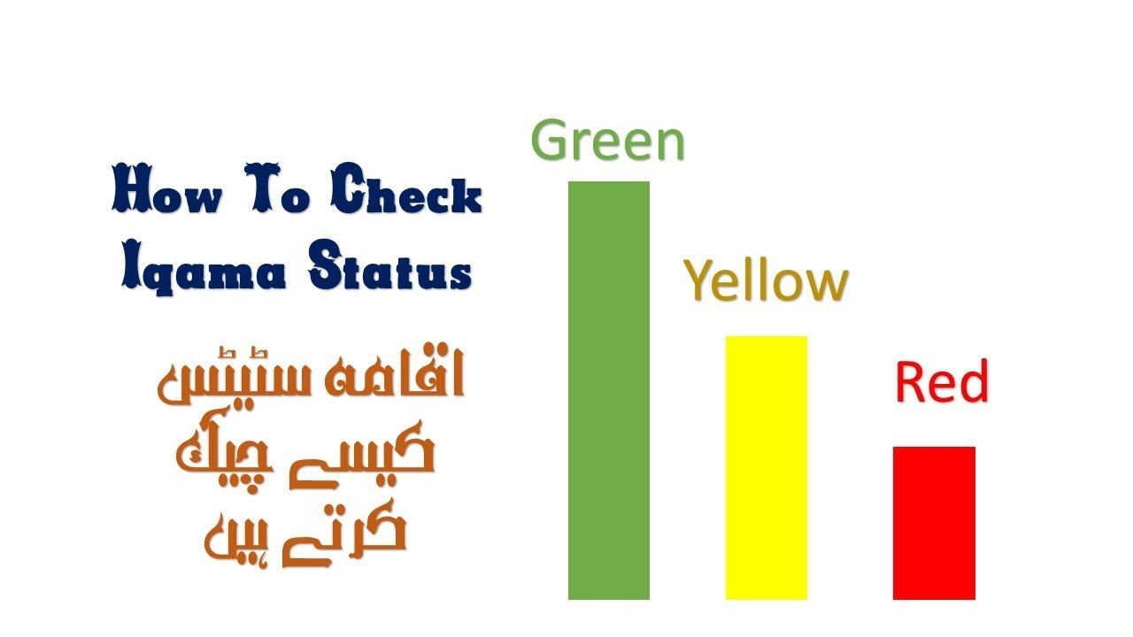 Iqama expiry and Iqama status check with Absher | New Method