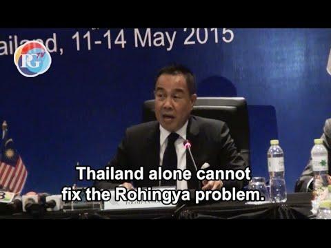Rohingya trafficking tops Thai-Malaysian police talks in Phuket