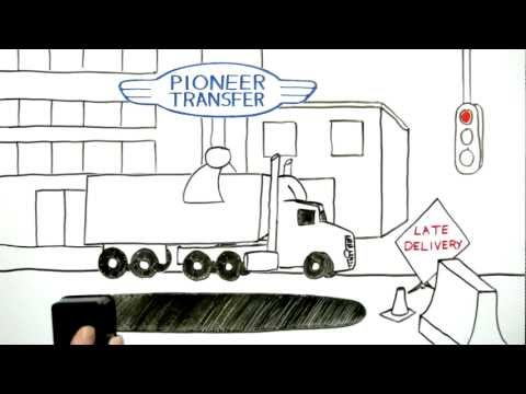 Pioneer Transfer Freight Agent & Broker Transport Company Video