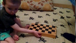 Обучение ребёнка игре в шахматы. Урок1.