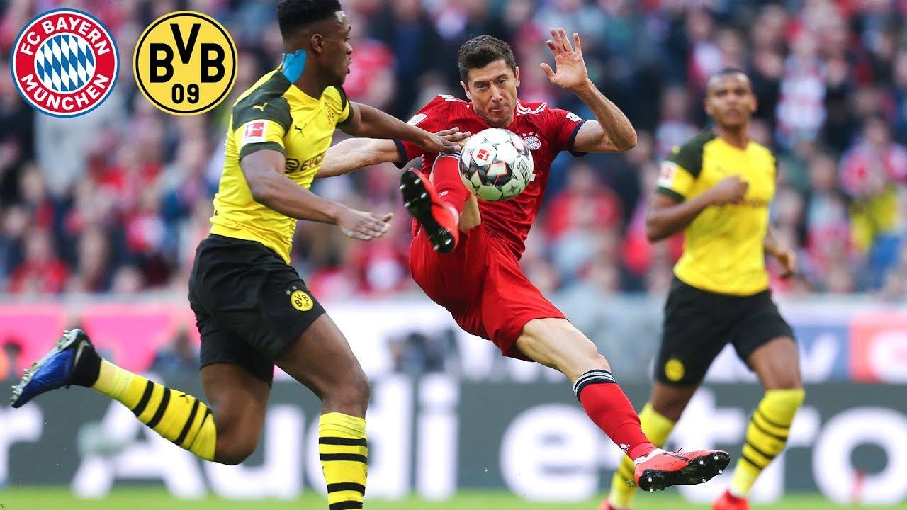 Download Robert Lewandowski: All Goals for FC Bayern vs. Borussia Dortmund