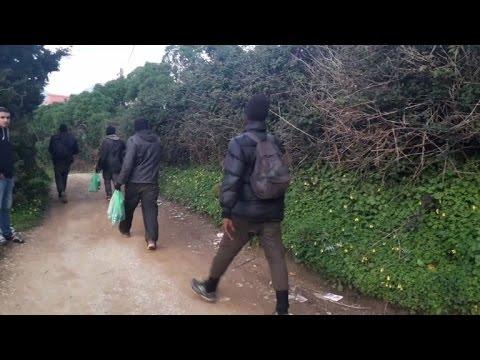 Au Maroc, Des Migrants Cherchent à Gagner L'Europe