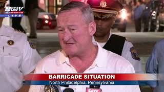 SECOND UPDATE: Philly Police Commissioner Details Barricade Situation