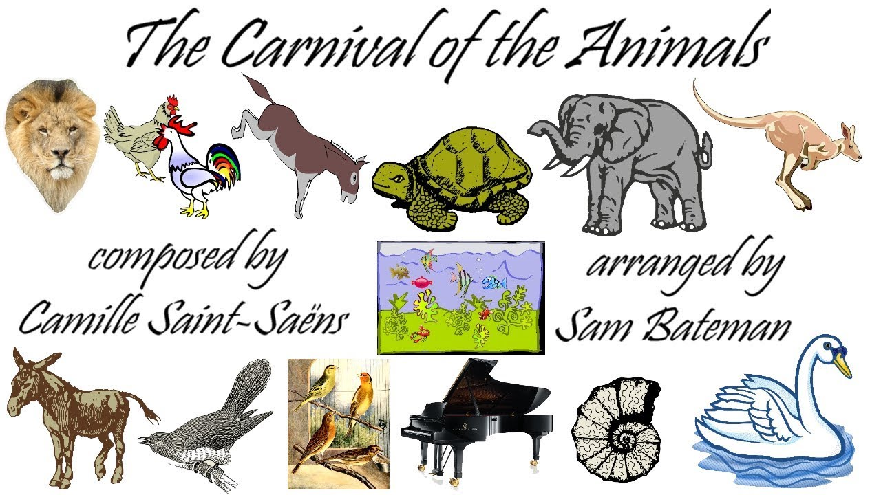 The Carnival of the Animals - arranged for saxophone quartet