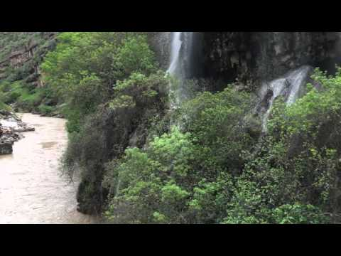 The most beautiful waterfalls in the mountains of Rawanduz . Kurdistan