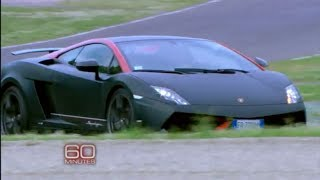 Racing a Lamborghini at 155 mph   60 Minutes Thumbnail