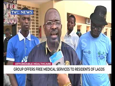 Group offers free medical services to residents in Lagos