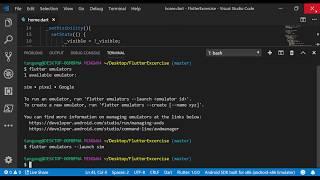 1. Create Android Emulators through Command Line   || Flutter App
