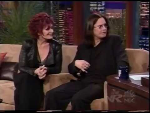 OZZY & SHARON HAVE FUN WITH LENO