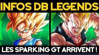 DB LEGENDS - Showcase des unités Sparking GT !