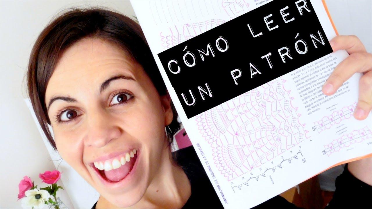 Cómo LEER UN PATRÓN de crochet | CROCHET SOS | Ahuyama Crochet - YouTube