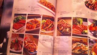 Меню японского ресторана EDO ICHI на о. Пенанг (в Island plaza)