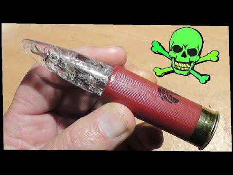 Glass Shotgun Slugs -  Your Worst Nightmare