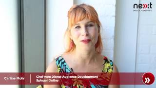 nextMedia.Minute - Caroline Mohr (Spiegel Online) über Audience Development thumbnail