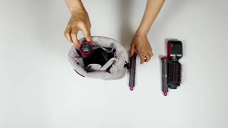 다이슨 에어랩 드라이기 휴대용 케이스 고데기 여행용 파…