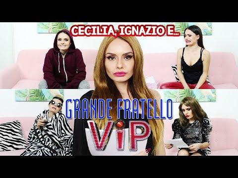 PARODIA GRANDE FRATELLO VIP - CECILIA, IGNAZIO E.... | MARYNA