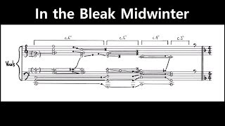 Jacob Collier - In the Bleak Midwinter (Transcription)