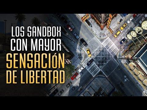 Los Sandbox con Mayor Sensación de Libertad