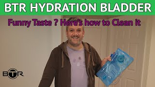 BTR Hydration Bladder - Before Use How to Remove any Plastic Taste **UPDATED VERSION**