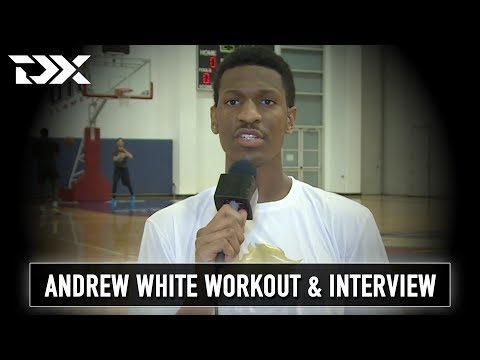 Andrew White NBA Pre-Draft Workout and Interview