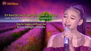Lirik Lagu Jealous dan Artinya - Anneth Indonesia Junior Idol