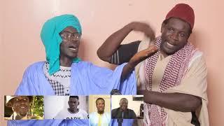 """Wadioubakh et Pa nice listent les comédiens """"thiaga et fumeurs de..."""