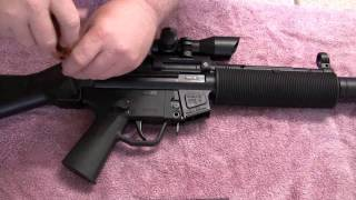 GSG 5 522 22LR HK PUSH PIN UPGRADE REPLACEMENT SD HOW TO INSTALL GUIDE