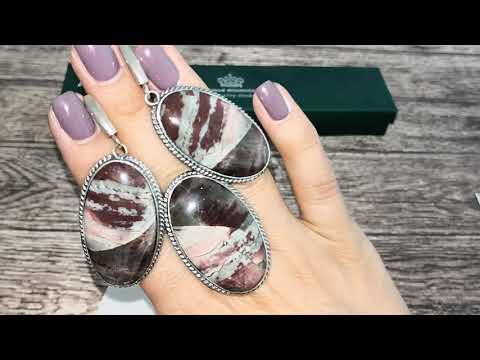 💦Гривна для кулонов💦 и украшения с натуральными камнями из серебра