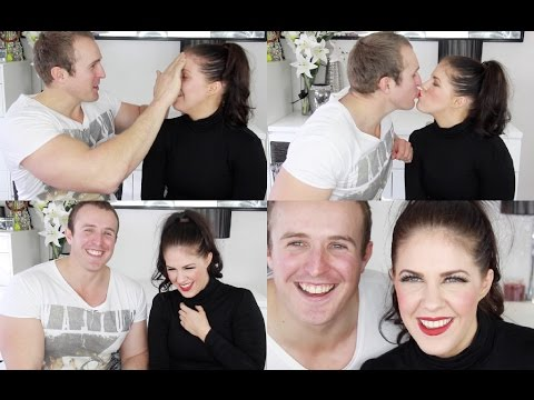 Boyfriend Does My Makeup Tag!!