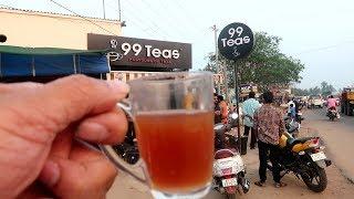 99 TEAS at One Place | Kadiyapu Lanka , Near Rajahmundry | street food zone
