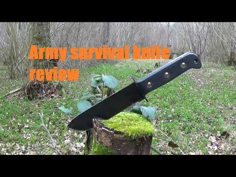 Army Survival Knife Review