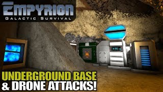 UNDERGROUND BASE & DRONE ATTACKS! | Empyrion Galactic Survival | Let's Play Gameplay | S15E03