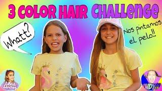 3 hair color challenge con Silvia Sánchez(especial 10k)/ El mundo de Indy