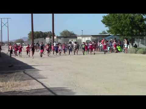 Cross Country Race At Sandia Elementary School In Apple Valley,CA 2015