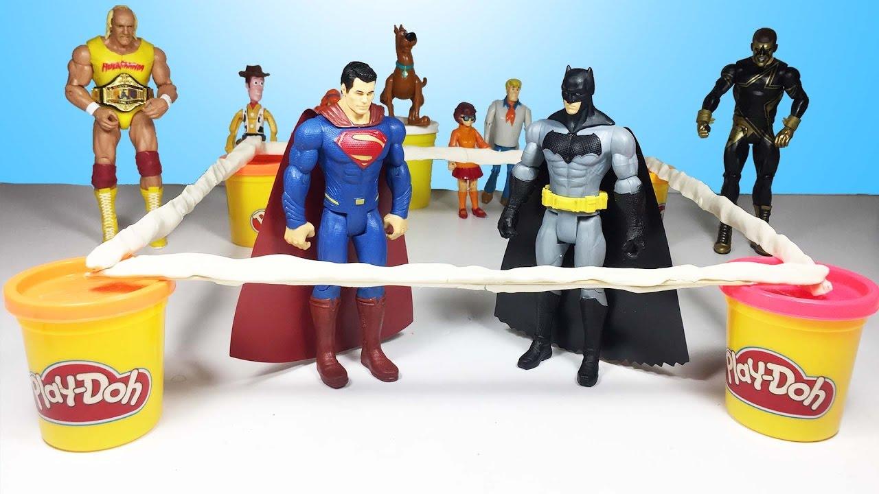 Süper Kahramanlar Ringde çarpışıyor Superman Vs Batman Süper