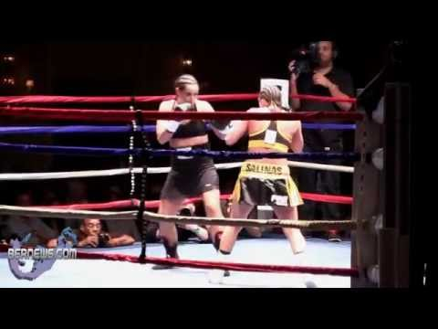 Jennifer Bolivian Queen Salinas vs Karen Dulin Rounds 1-2, Oct 13 2012
