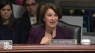 'What are you hiding?': Klobuchar says GOP is 'afraid' of FBI probe into Kavanaugh allegation