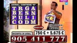 "Presentador calltv en apuros: ""HOLA"" ""FÓLLAME"" ""OLÉ OLÉ"""