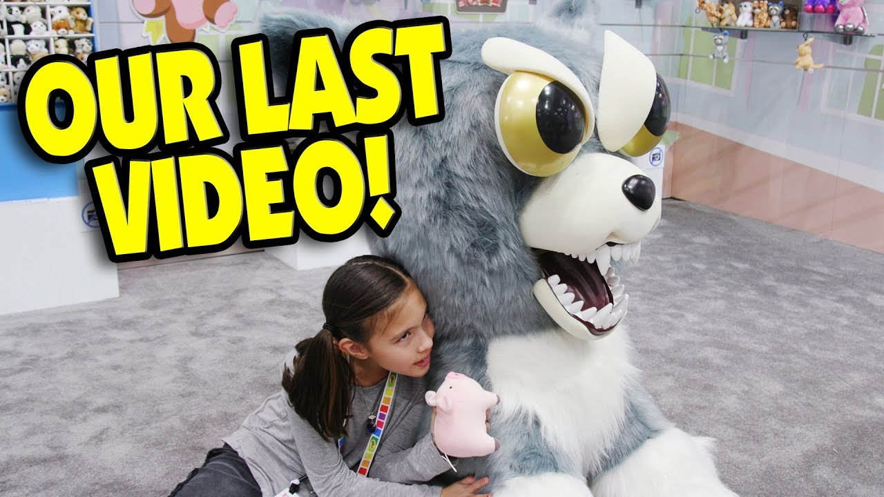 OUR LAST VIDEO!!!  Toy Fair Finale! Roblox, Fiesty Pets, Minecraft, Funko, Pokemon, LPS, Shopkins!